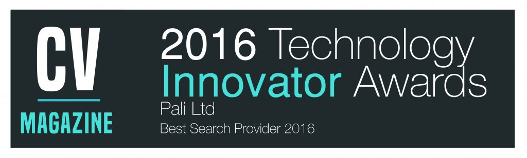 Pali Ltd -Tech Innovator Awards (TI16050)Winners Logo