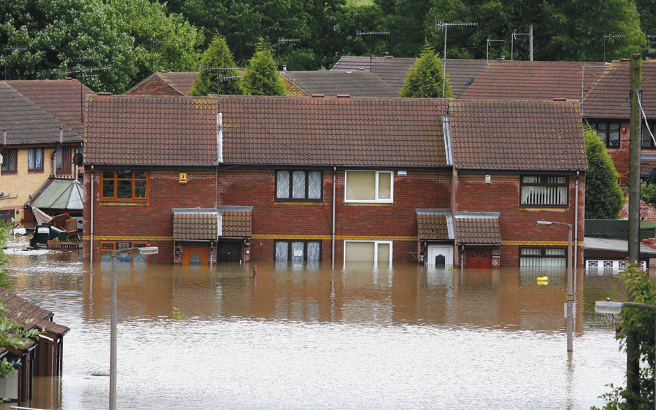 Flooding hits Britain