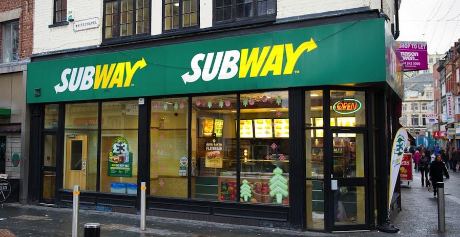 Subway sandwich franchise