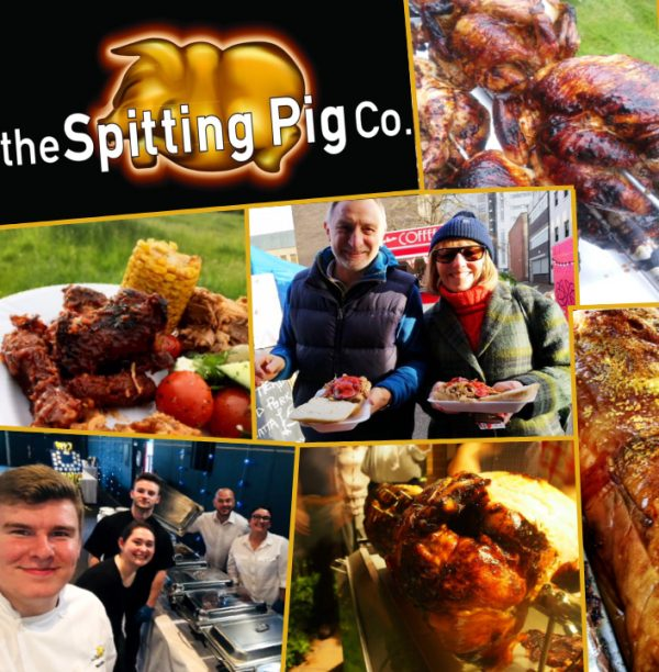 Spitting Pig Franchise Logo Collage