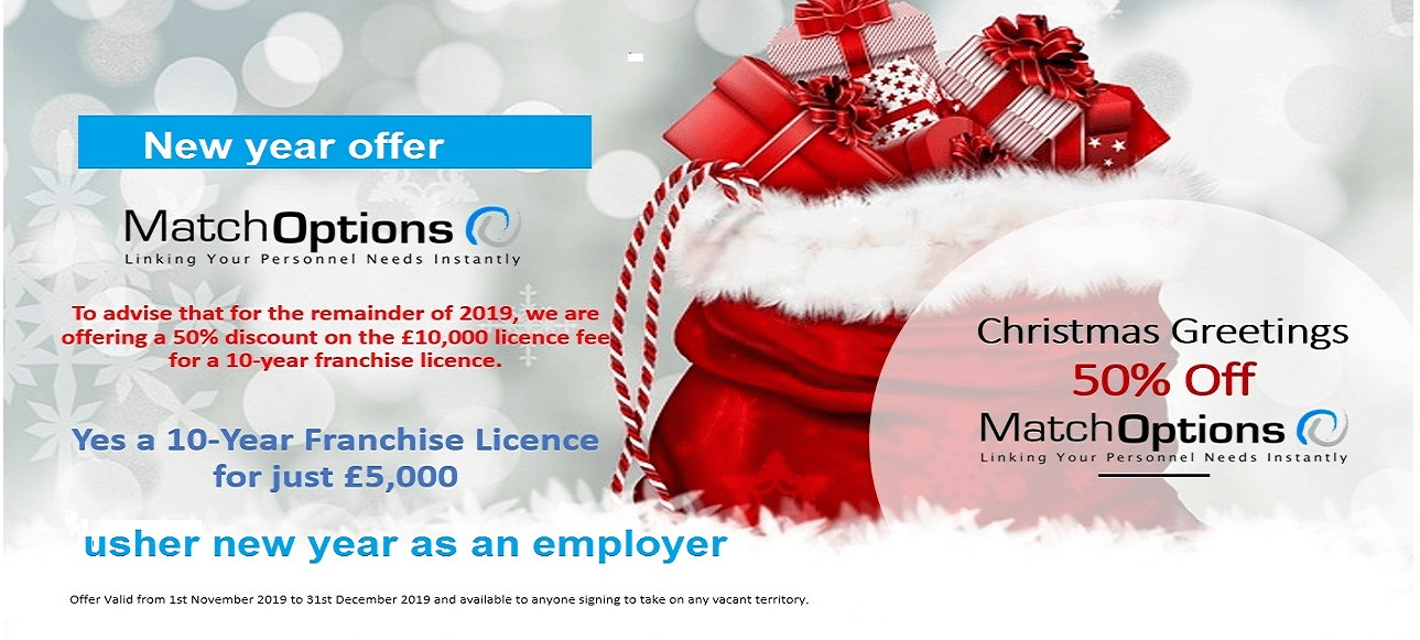 Match Options Christmas Offer