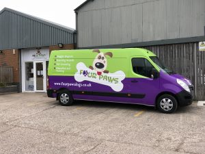 Four Paws Van Franchise