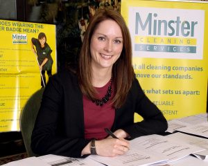 Minster Cleaning Services woman