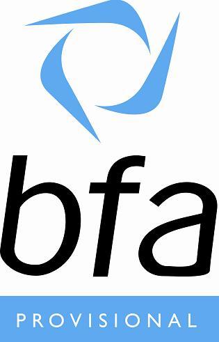 bfa provisional logo