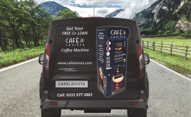Cafe Lavista Coffee Van