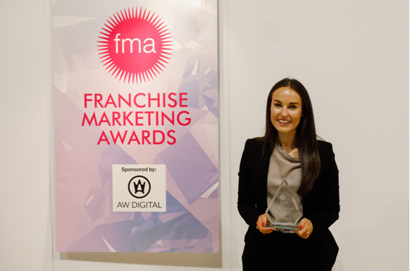 Chipsaway Ella Pugh Franchise Marketing Award