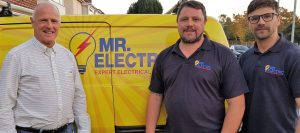 Mr Electric van