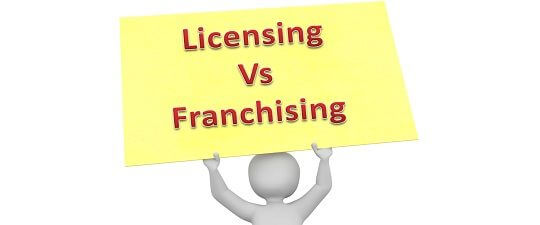 Difference Between Licensing And Franchising