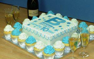 Franchise Brands Celebratory Cake