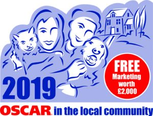 OSCAR In the local community logo 2019