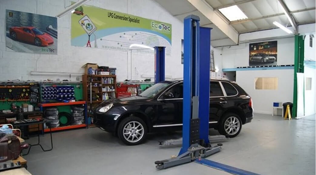 Vehicle Conversion Garage