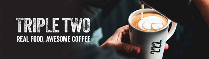 Triple Two Coffee Banner
