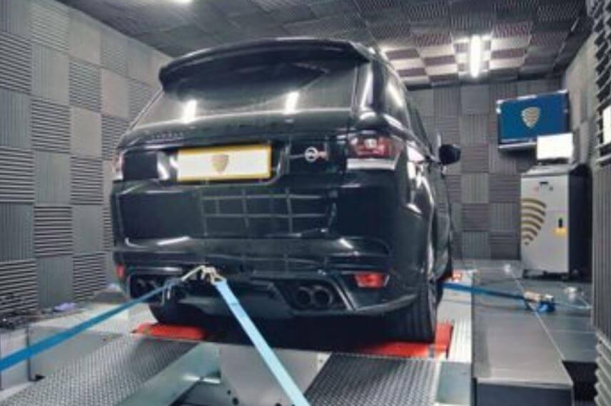 Performance Tuned Car