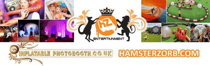 Hamster Zorbs Banner