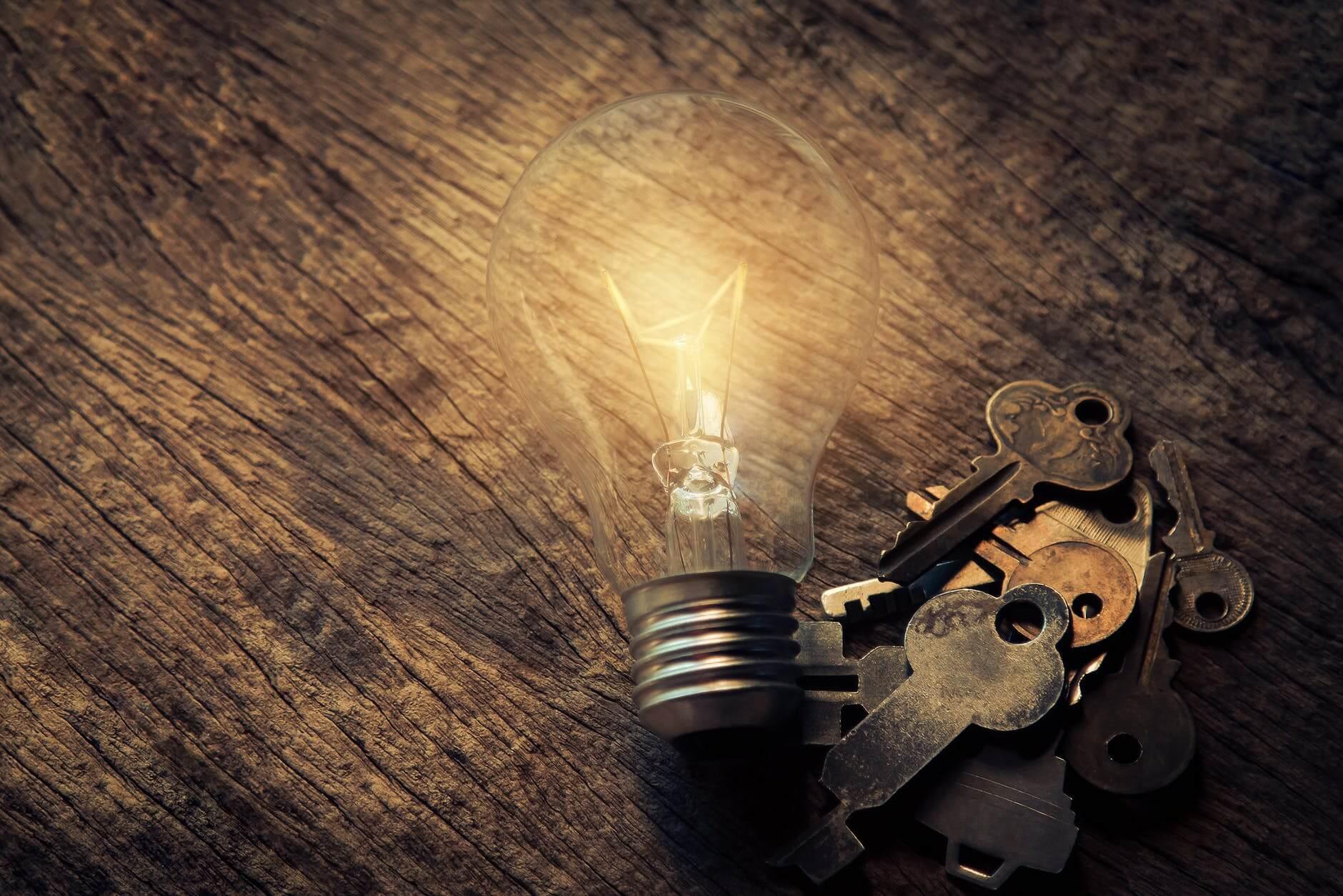 Light Bulb Keys