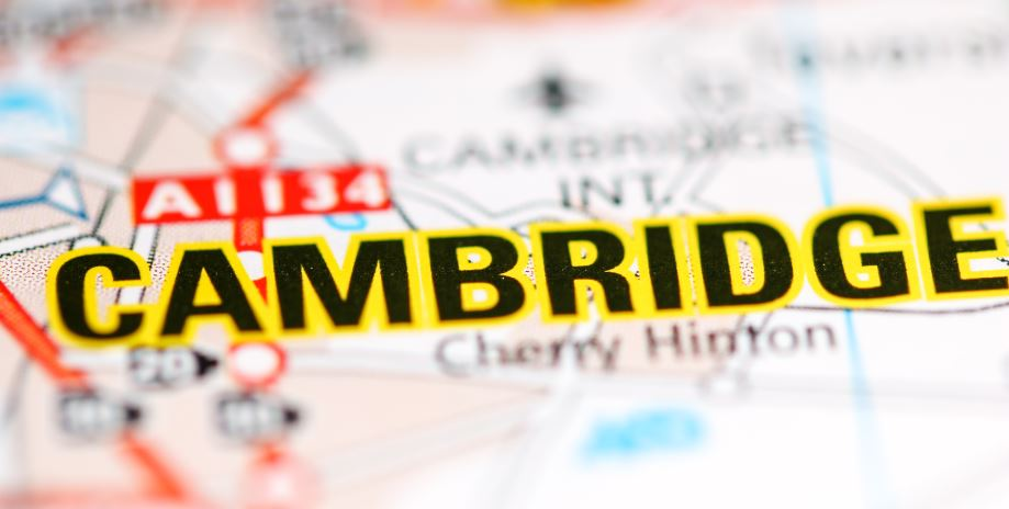 Cambridge Franchise Territory Map