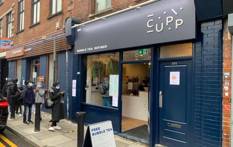 Cupp Bubble Tea Franchise