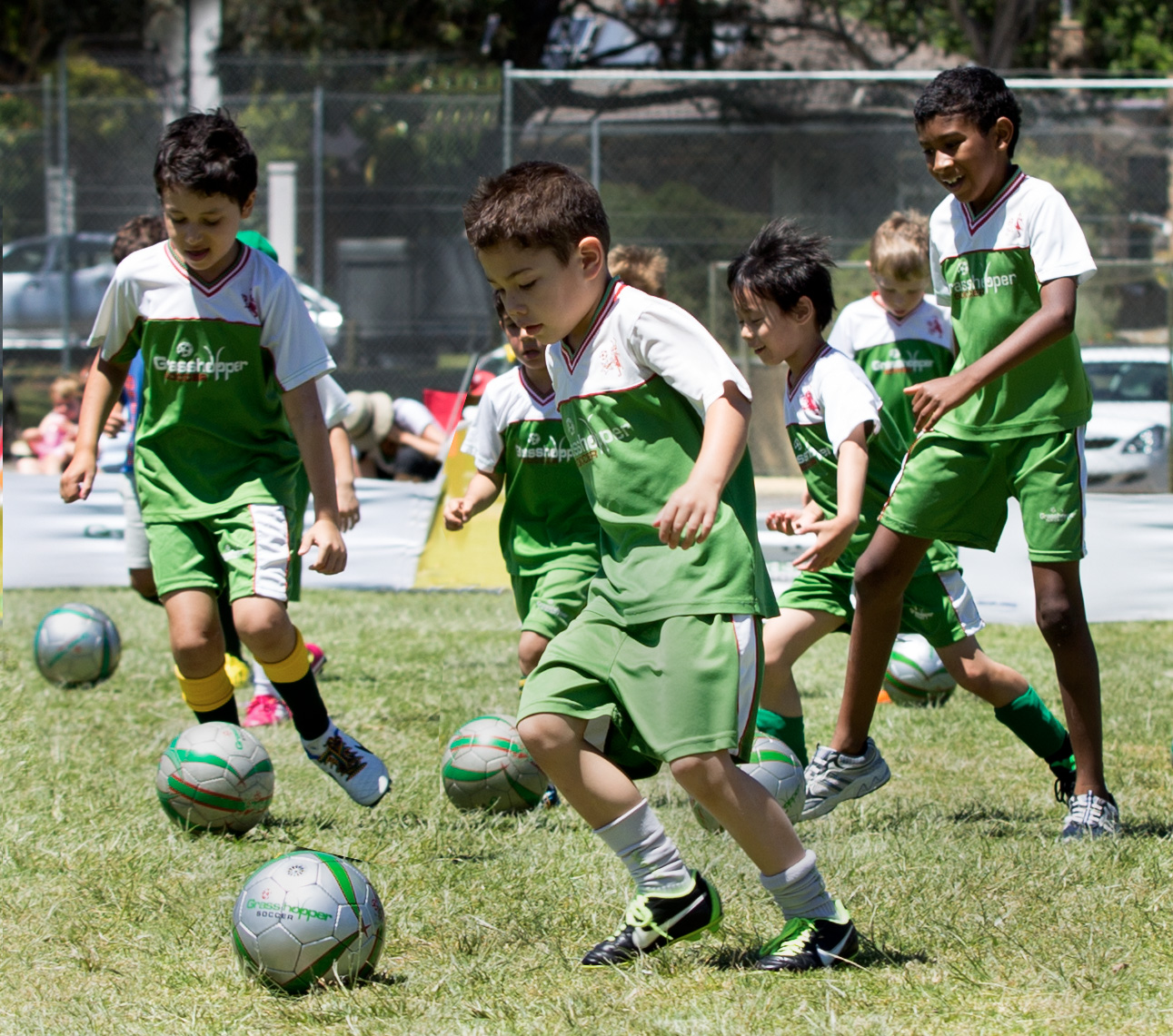 Kids Coaching Soccer
